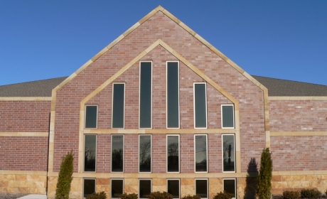 Cedar Lake Library Project by Kwiatkowski Masonry