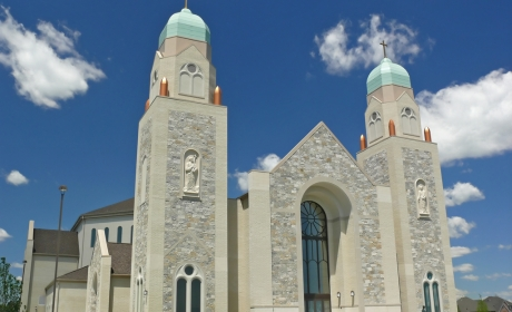 St. John the Evangelist Church - Kwiatkowski Masonry - Mason Contractor Northwest Indiana