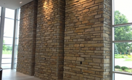 Valparaiso University Welcome Center - Kwiatkowski Masonry - Mason Contractor Northwest Indiana